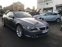 USED 2007 07 BMW 6 SERIES 3.0 630I SPORT 2d 255 BHP FULL SERVICE HISTORY-10 STAMPS-LEATHER-HEATED SEATS-ELECTRIC HOOD