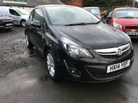 USED 2014 14 VAUXHALL CORSA 1.2 EXCITE AC 3d 83 BHP FULL DEALER HISTORY-ALLOYS-HEATED SEATS AND STEERING WHEEL-A/C-1 FORMER KEEPER