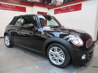 USED 2012 62 MINI CONVERTIBLE 1.6 Cooper (Pepper) (s/s) 2dr *23000 MILES*SERVICE HISTORY*