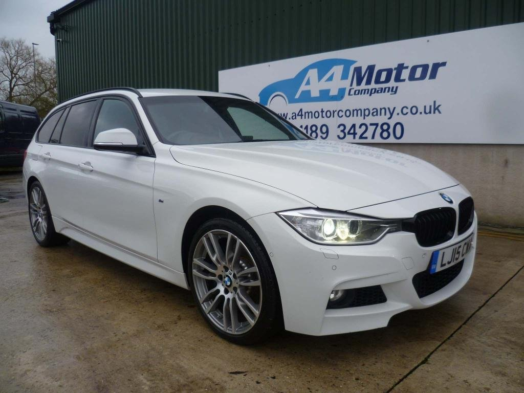 USED 2015 15 BMW 3 SERIES 3.0 335d M Sport Touring Sport Auto xDrive (s/s) 5dr AUTO FULL BMW SERVICE HISTORY