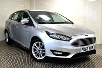 USED 2016 66 FORD FOCUS 1.5 ZETEC TDCI 5d 118 BHP STUNNING FOCUS WITH SAT NAV
