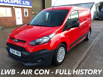 2014 FORD TRANSIT CONNECT 1.6 210 ECONETIC L2 LWB 95 BHP AIR CON £5500.00