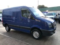 USED 2015 15 VOLKSWAGEN CRAFTER 2.0 CR30 TDI SWB 109 BHP AIR CON