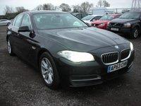 2013 BMW 5 SERIES 2.0 520D SE 4d 181 BHP SOLD