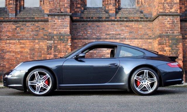 2007 07 PORSCHE 911 3.8 997 CARRERA 4S AWD 2d 350 BHP [ FPMDSH ]