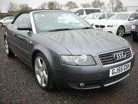 USED 2005 55 AUDI A4 3.0 S LINE 2d 217 BHP Leather - Cambelt changed