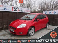 USED 2006 06 FIAT GRANDE PUNTO 1.4 SPORTING 16V 3d 94 BHP FINANCE AVAILABLE FROM £16 PER WEEK OVER TWO YEARS - SEE FINANCE LINK FOR DETAILS