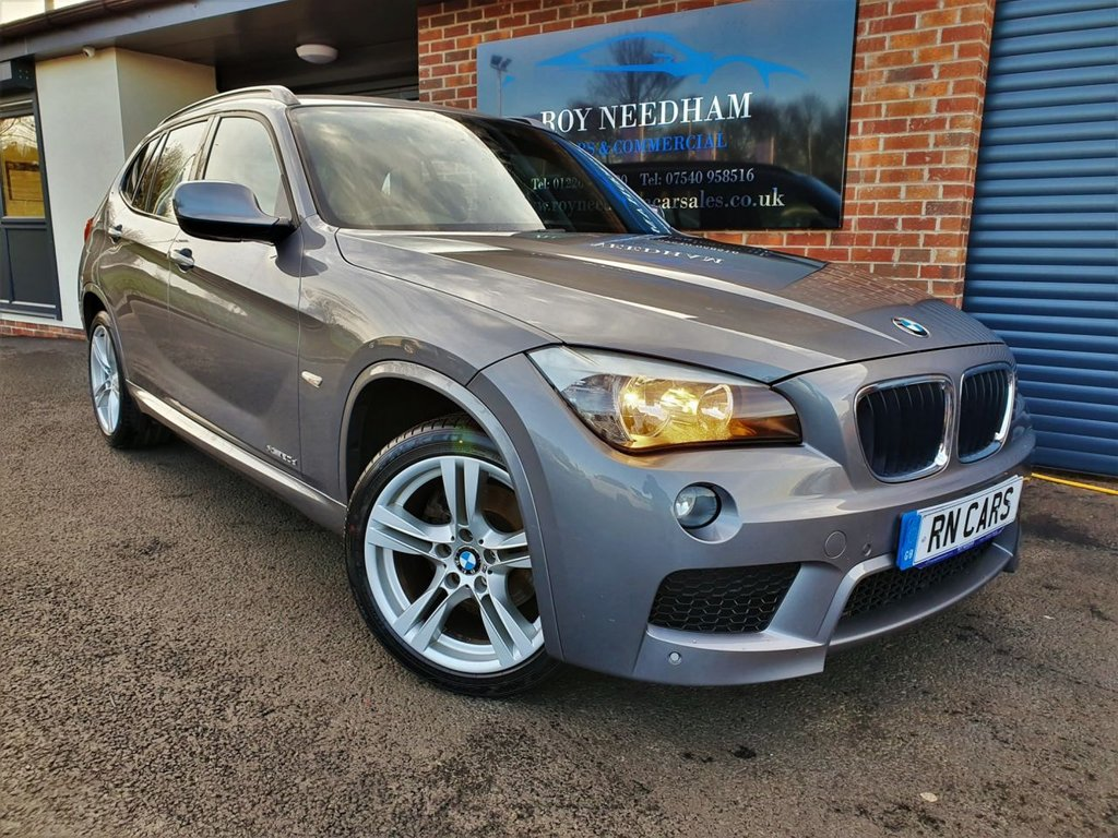 USED 2011 11 BMW X1 2.0 XDRIVE 20D M SPORT 5DR 174 BHP *** LOW MILES - 4WD - FSH - LEATHER ***