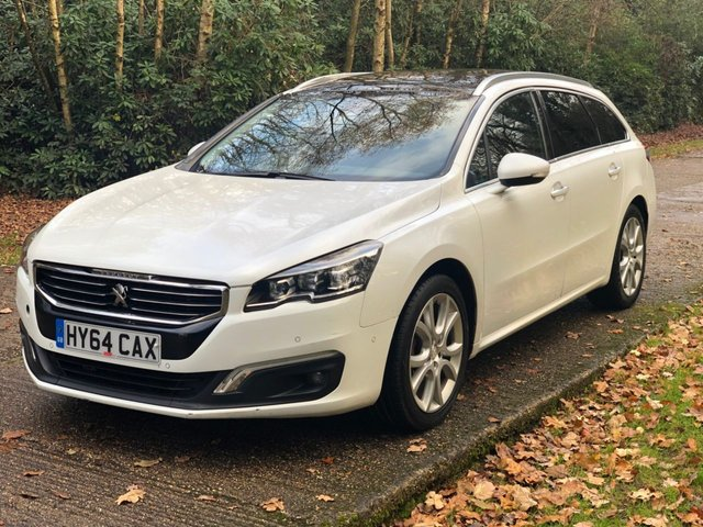 USED 2014 64 PEUGEOT 508 2.0 HDI SW ALLURE 5d 140 BHP DEALER PX TO CLEAR LONG MOT GOOD DRIVE