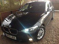 2013 BMW 1 SERIES 1.6 116D EFFICIENTDYNAMICS 5d 114 BHP £7995.00