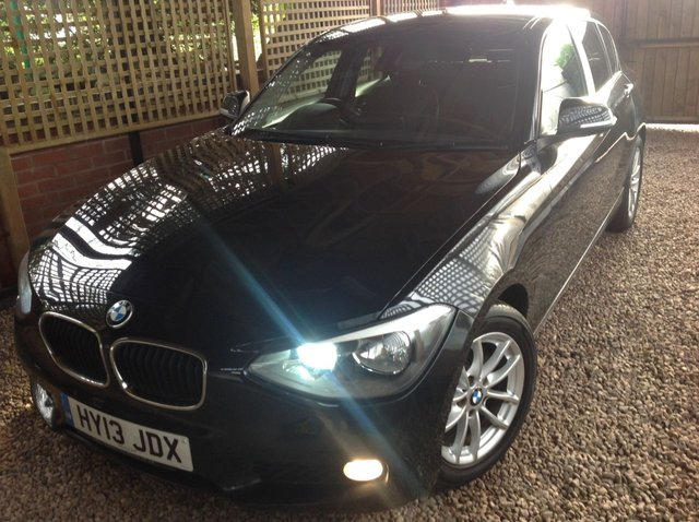 2013 13 BMW 1 SERIES 1.6 116D EFFICIENTDYNAMICS 5d 114 BHP
