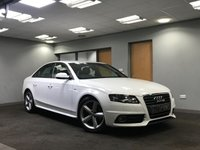 USED 2011 11 AUDI A4 2.0 TDI S LINE 4d 168 BHP very low mileage