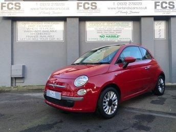 2014 FIAT 500 1.2 LOUNGE 3d 69 BHP £4995.00