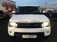 USED 2013 13 LAND ROVER RANGE ROVER SPORT 3.0 SD V6 HSE 4X4 5dr STUNNING 4X4 + FUJI WHITE!!!!!