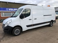 USED 2011 60 RENAULT TRUCKS MASTER 2.3 125.35 L3H2 LWB 125 BHP AIR CON