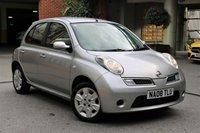 2008 NISSAN MICRA 1.2 ACENTA 5d 80 BHP £1350.00