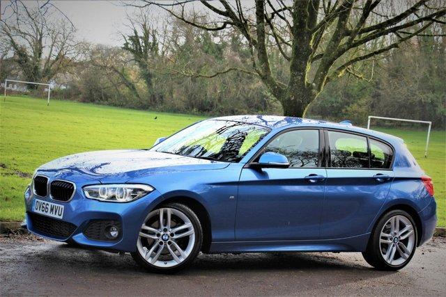 2016 66 BMW 1 SERIES 2.0 120D M SPORT 5d 188 BHP