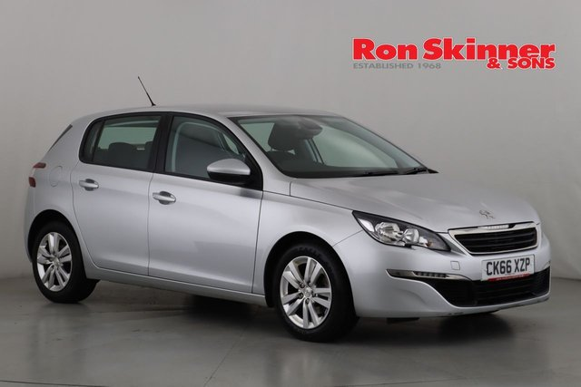 View our 2016 66 PEUGEOT 308 1.6 BLUE HDI S/S ACTIVE 5d 120 BHP