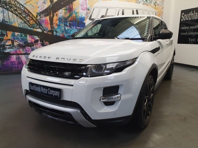 USED 2014 64 LAND ROVER RANGE ROVER EVOQUE 2.2 SD4 DYNAMIC 5d 190 BHP