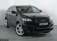 USED 2013 13 AUDI Q7 3.0 TDI QUATTRO S LINE PLUS S/S 5d 204 BHP BUY NOW, PAY 2 MONTHS LATER