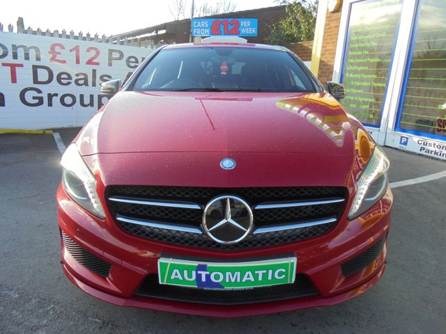 USED 2013 13 MERCEDES-BENZ A-CLASS 1.8 A180 CDI BLUEEFFICIENCY AMG SPORT 5d 109 BHP ***JUST ARRIVED...TEST DRIVE TODAY***NO DEPOSIT DEALS