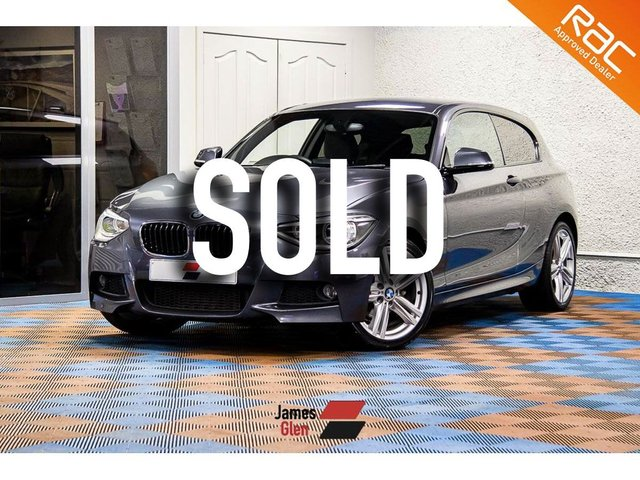USED 2013 13 BMW 1 SERIES 2.0 116D M SPORT 3d 114 BHP Three owners | 5-BMW Stamps