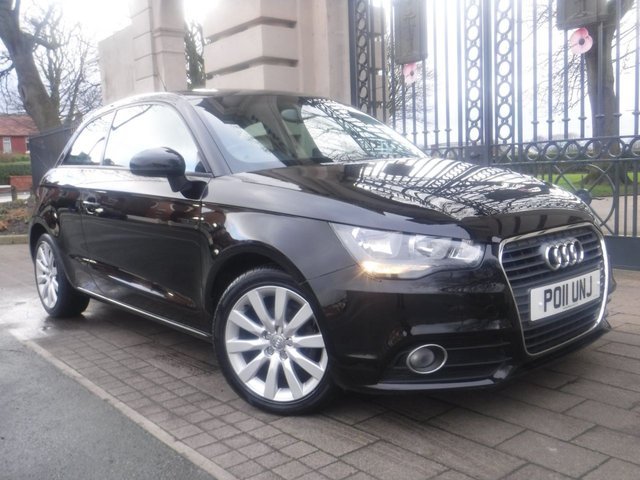 USED 2011 11 AUDI A1 1.2 TFSI SPORT 3d 84 BHP *FINANCE ARRANGED*PART EXCHANGE WELCOME*PART LEATHER*£30 TAX*BLUETOOTH*NAV READY*AUTO LIGHTS*REAR PS*A/C