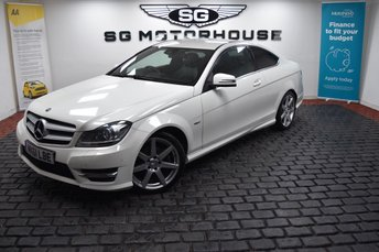 2011 MERCEDES-BENZ C CLASS 1.8 C180 BLUEEFFICIENCY AMG SPORT EDITION 125 2d 156 BHP £10995.00