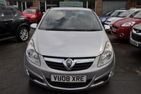 USED 2008 08 VAUXHALL CORSA 1.2 LIFE A/C 5d 80 BHP