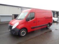 2014 VAUXHALL MOVANO 2.3 F3500 L2H2 P/V CDTI 160 BHP 1 OWNER NO VAT £5991.00