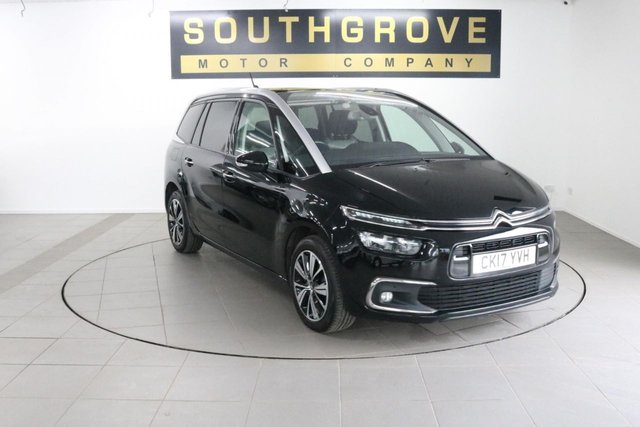 USED 2017 17 CITROEN C4 GRAND PICASSO 1.6 BLUEHDI FLAIR S/S 5d 118 BHP