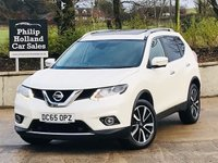 USED 2016 65 NISSAN X-TRAIL 1.6 DCI TEKNA XTRONIC 5d 130 BHP 7 SEATS Full leather, Heated seats