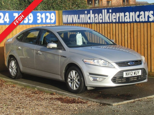 USED 2012 12 FORD MONDEO 2.0 ZETEC TDCI 5d 161 BHP FULL FORD HISTORY X 7 STAMPS