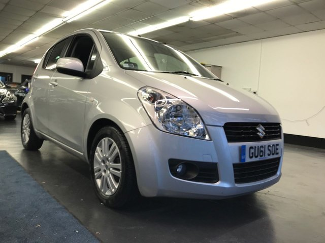 USED 2011 61 SUZUKI SPLASH 1.2 SZ4 5d 94 BHP KEY-LESS ENTRY AND KEY-LESS GO, FULL SERVICE AND NEW 12 MONTH MOT.