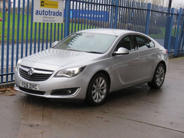 USED 2016 16 VAUXHALL INSIGNIA 1.6 ELITE NAV CDTI ECOFLEX S/S 5dr Nav Leather Cruise Heated seats DAB Memory seat Finance arranged Part exchange available Open 7 days