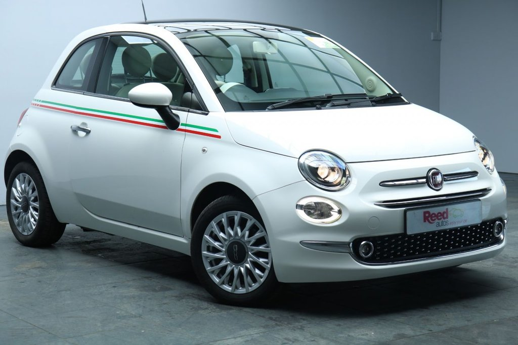USED 2016 FIAT 500 1.2 LOUNGE 3d 69 BHP REAR PARKING SENSORS+BLUETOOTH+AIR CON+STABILITY CONTROL+1 OWNER