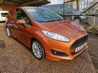 USED 2015 65 FORD FIESTA 1.5 TDCi SPORT VAN *NO VAT* *AIR CON* NO VAT - STUNNING COLOUR - S/HISTORY