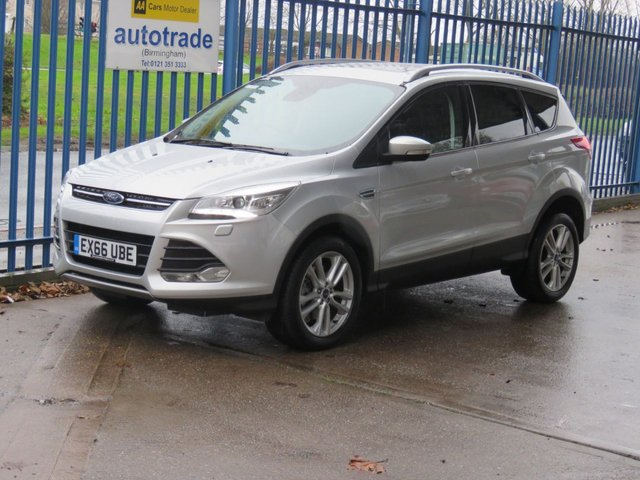USED 2016 66 FORD KUGA 2.0 TITANIUM X TDCI Sat nav Pan roof Full leather DAB Heated seats  Sat Nav- Panoramic Opening Roof-Heated Leather