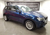 2012 BMW X3 2.0 XDRIVE20D SE 5d + FULL LEATHER + SERVICE HISTORY £8750.00