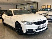 USED 2014 64 BMW 4 SERIES 2.0 420D XDRIVE M SPORT 2d 181 BHP BM PERFORMANCE STYLING+R-CAM