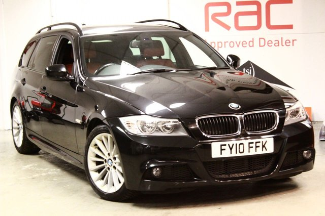 2010 10 BMW 3 SERIES 2.0 320D M SPORT BUSINESS EDITION TOURING 5d 175 BHP