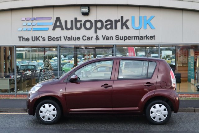 USED 2008 58 DAIHATSU SIRION 1.3 S 5d 85 BHP LOW DEPOSIT OR NO DEPOSIT FINANCE AVAILABLE