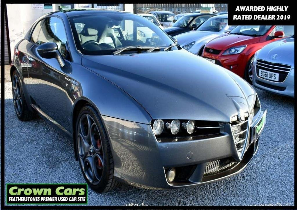 USED 2008 07 ALFA ROMEO BRERA 3.2 JTS V6 S 3dr NATIONWIDE DELIVERY AVAILABLE