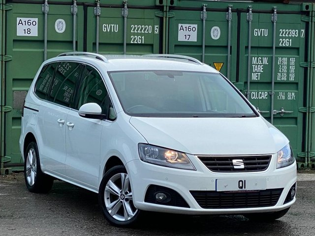 USED 2016 16 SEAT ALHAMBRA 2.0 TDI SE DSG (s/s) 5dr BUY ONLINE +FREE HOME DELIVERY