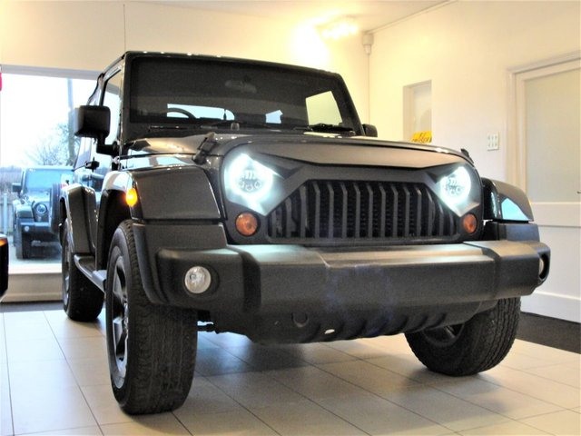 2007 57 JEEP WRANGLER 2.8 CRD WRANGLER Soft Top with Leather. Hard Top Option Automatic with Air Con + Warranty Included