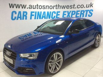 2015 AUDI A5 2.0 TDI BLACK EDITION PLUS 2d 177 BHP £15000.00
