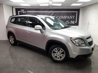 USED 2013 62 CHEVROLET ORLANDO 2.0 LT VCDI 5d + 2 FORMER KEEPERS + SERVICE HISTORY