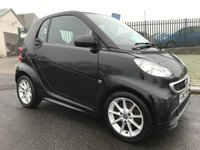 2012 SMART FORTWO 1.0 PASSION MHD 2d 71 BHP £4295.00