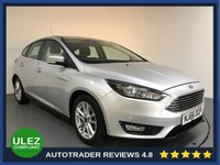 USED 2016 66 FORD FOCUS 1.0 ZETEC 5d AUTO 124 BHP FORD HISTORY - 1 OWNER - ULEZ - FRONT & REAR PARKING SENSORS - BLUETOOTH - AIR CON - CRUISE - DAB