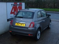 USED 2017 17 FIAT 500 1.2 POP STAR 3d 69 BHP ONE PRIVATE OWNER ONLY 15000 MILES
